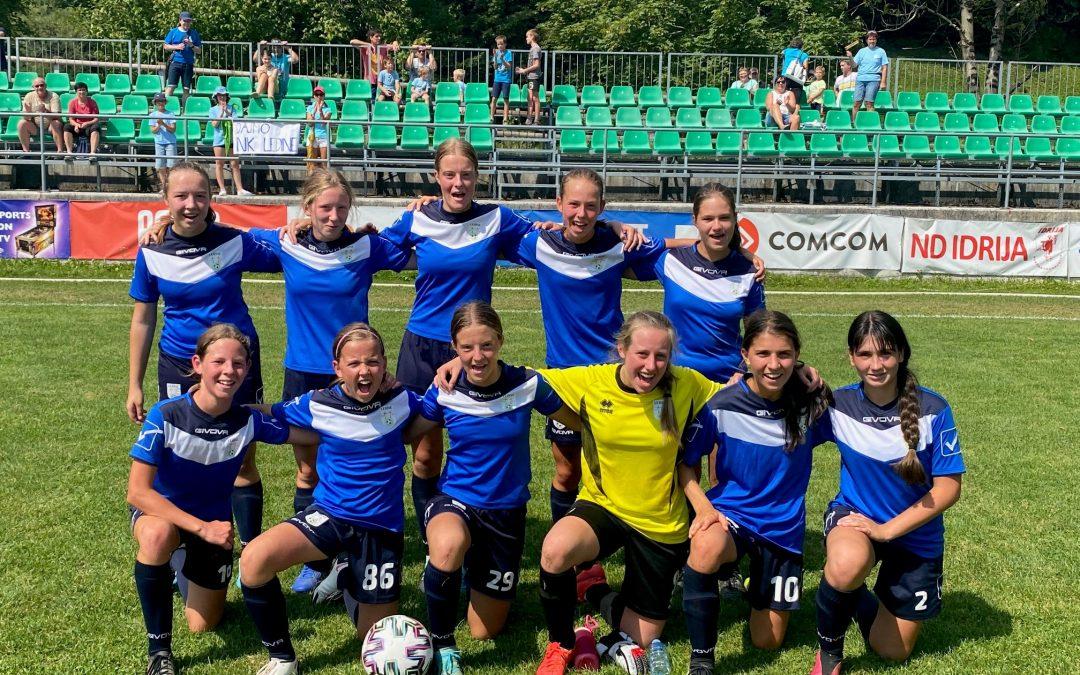 ŽNK Ledine U15 na prvi tekmi do prve točke