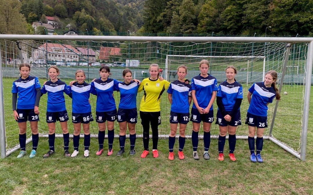 Dekleta U15 še na peti zaporedni tekmi neporažena